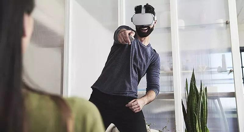 Oculus Go - Virtual Reality Headset - VR Headset - Joystick Test