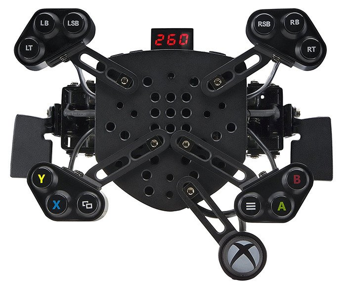Paquete de juego de bielas y volante de carreras Fanatec Forza Motorsport