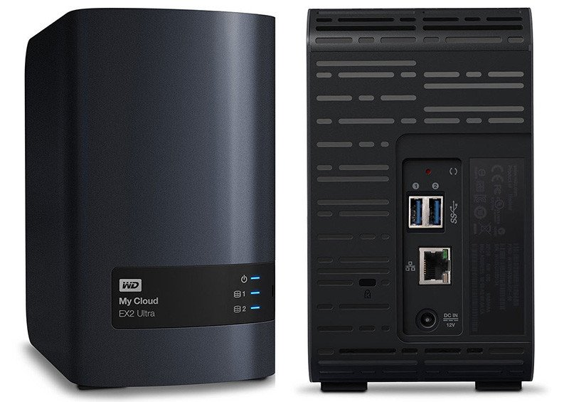 WD My Cloud EX2 Ultra - Boitier NAS 2 v