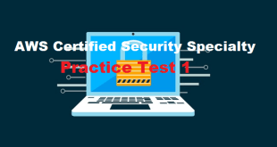 AWS Certified Security Specialty Practice Test 1