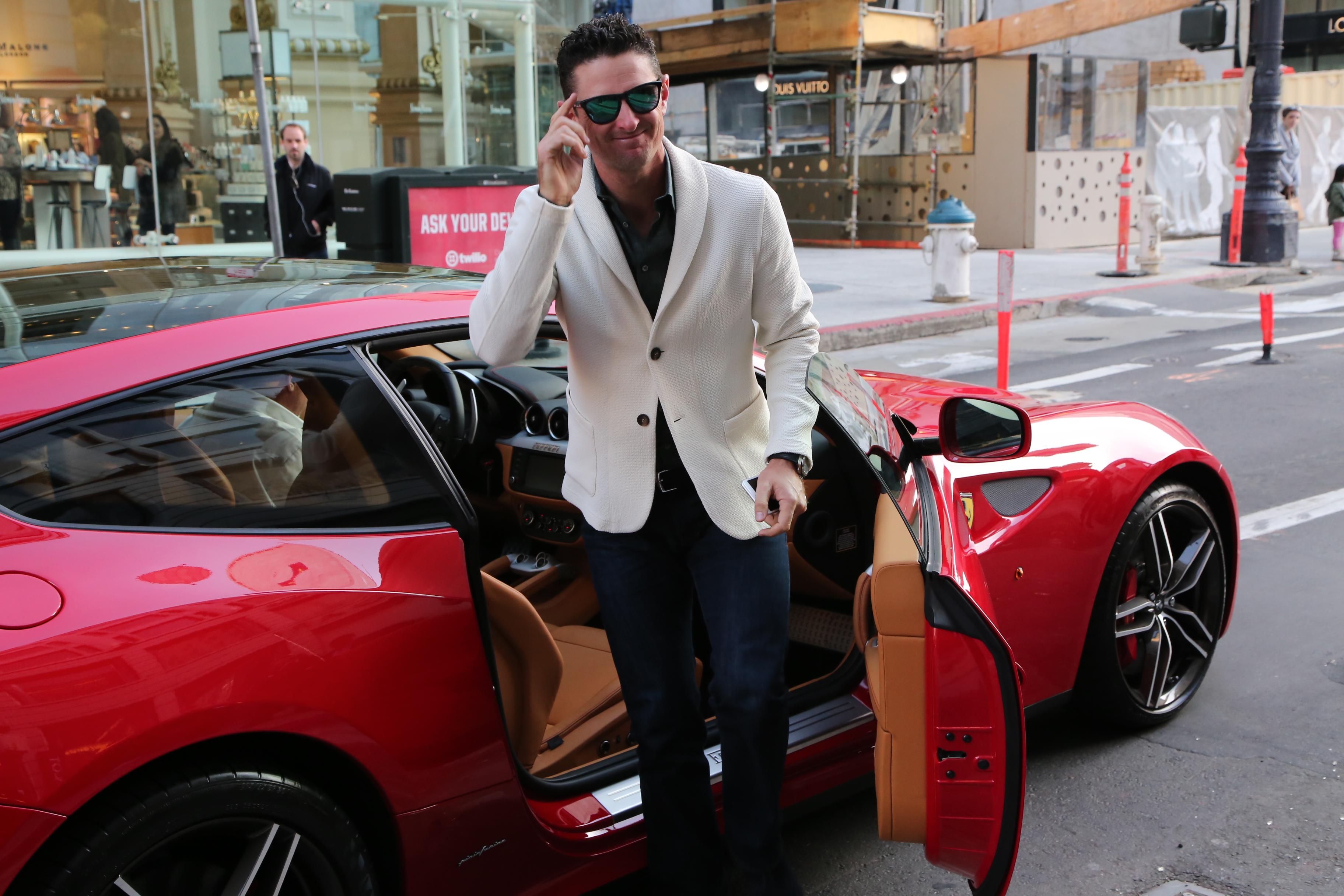 Kobe Bryant s Trip to Ferrari