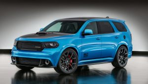 """Mopar """"shook up"""" the Dodge Charger of the SUV segment for SEMA, creating the Dodge Durango Shaker concept."""