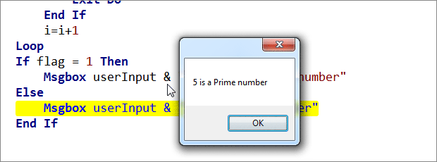Given Number is Prime or not?