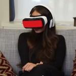 Reação das pessoas ao assitir pornô com óculos de realidade virtual