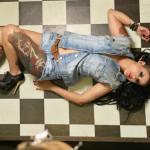 Conheça Aline Cândido, a Miss Tattoo Week 2015, em entrevista exclusiva