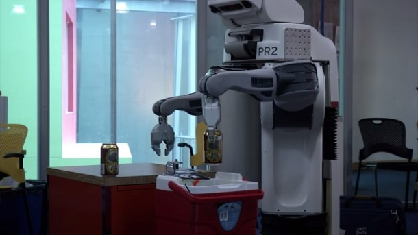 robô-cerveja