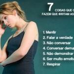 7 coisas que os homens fazem que irritam as mulheres