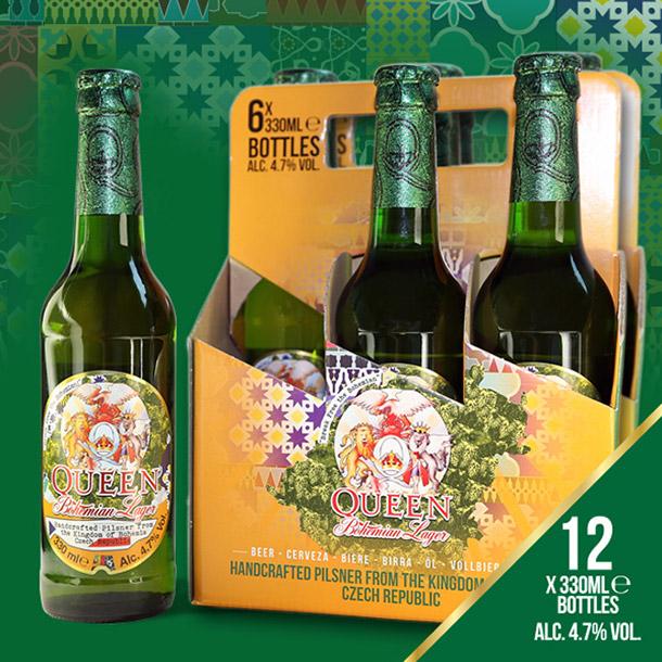 Cerveja do Queen