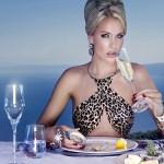 Comida deixa as mulheres mais românticas