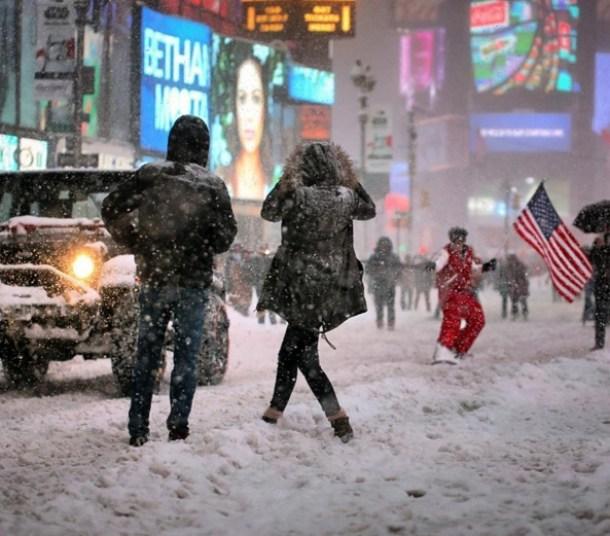 esquiaram-nova-york-nevasca