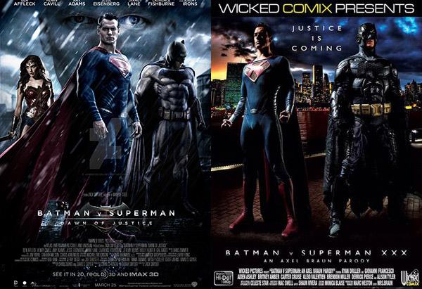 Batman X Superman XXX