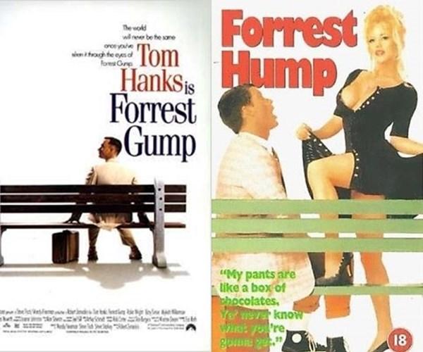 Forrest Hump parodias porno