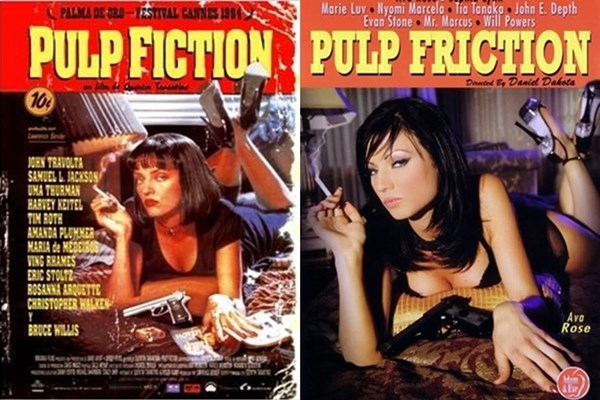 Pulp Friction parodia porno