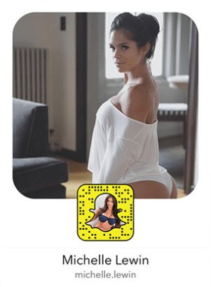 michelle-lewin-snapchat-snapcode-sexy