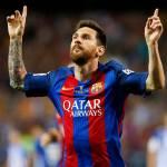 Com Messi, Barça supera Real em número absoluto de títulos
