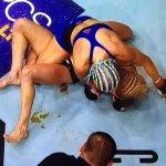 Justine Kish, a lutadora do que defecou no octógono recebeu uma oferta inusitada
