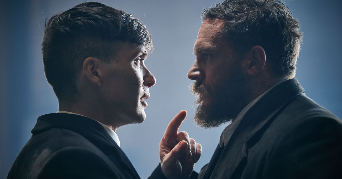 Peaky Blinders Cillian Murphy Tom Hardy