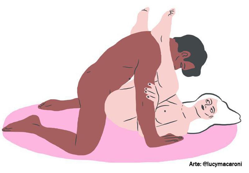 melhores posições para sexo anal