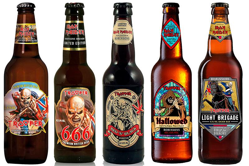 cerveja do Iron Maiden