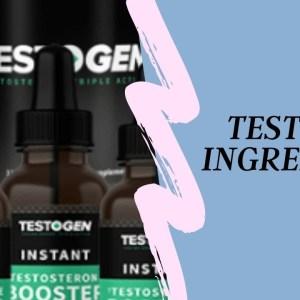 testogen ingredients✔️