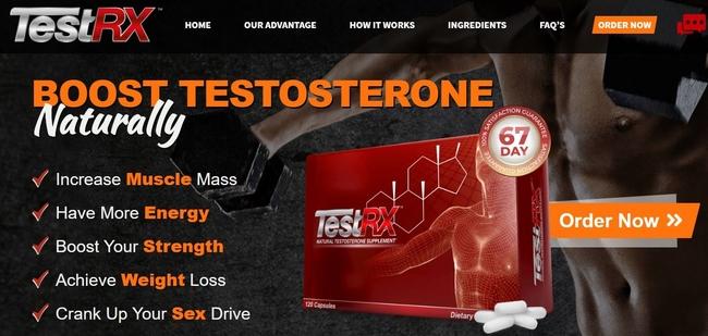 testrx website snap