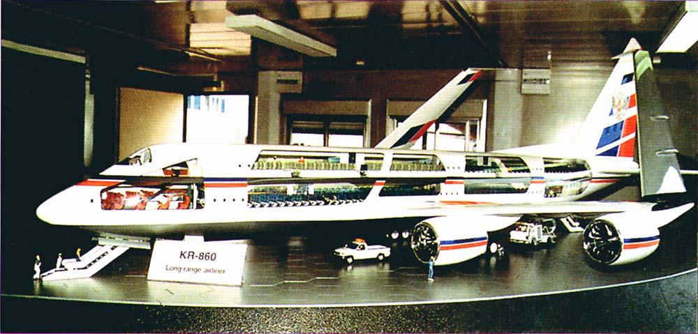 El KR860 el A380 ruso