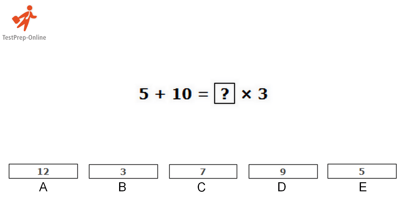 Cogat Quantitative Sample Questions
