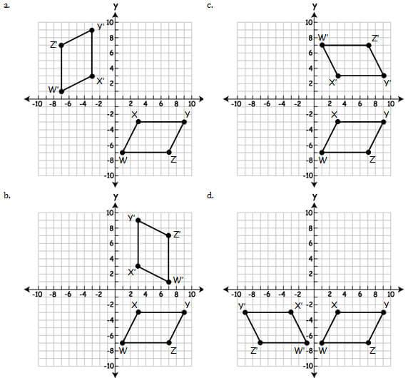 Common Core Mathematics: Geometry Practice Test (Questions)