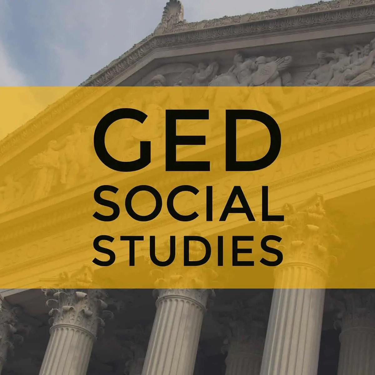 Ged Social Stu S Test Prep Guide