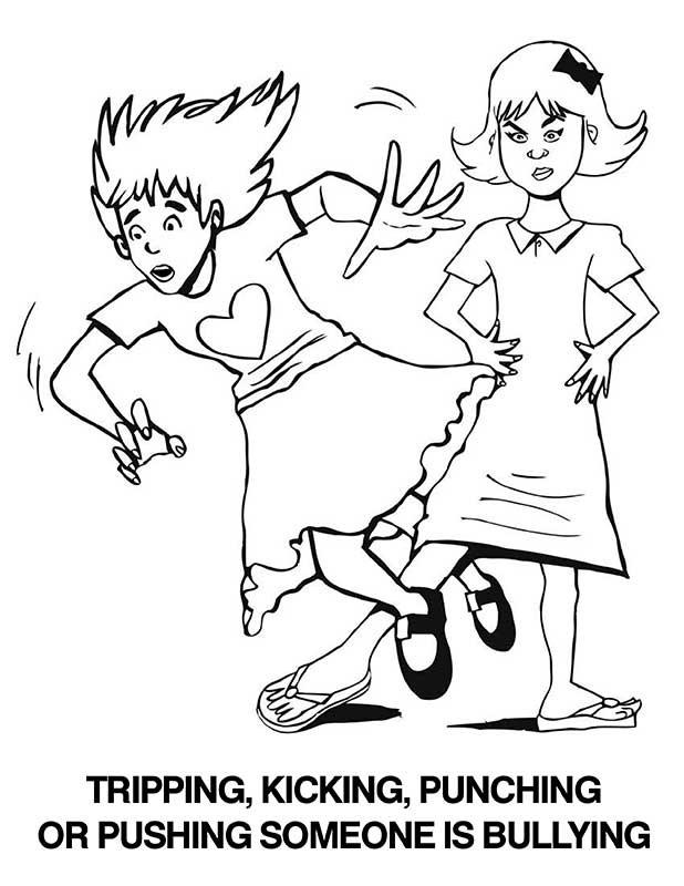 Anti-Bullying Coloring Book