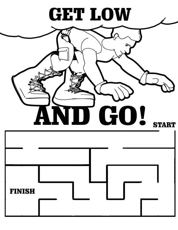 Fire Safety Book Printable Coloring Pages