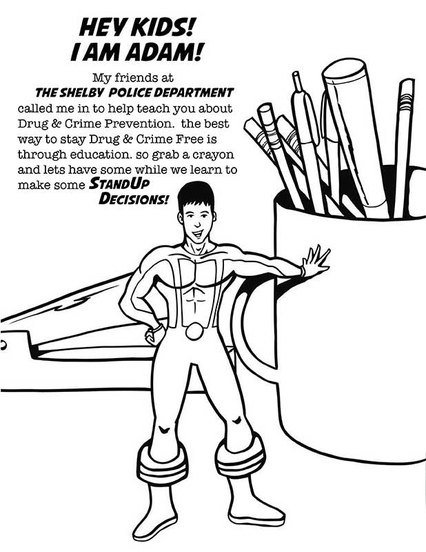 Drug Awareness Coloring Pages Coloring Coloring Pages