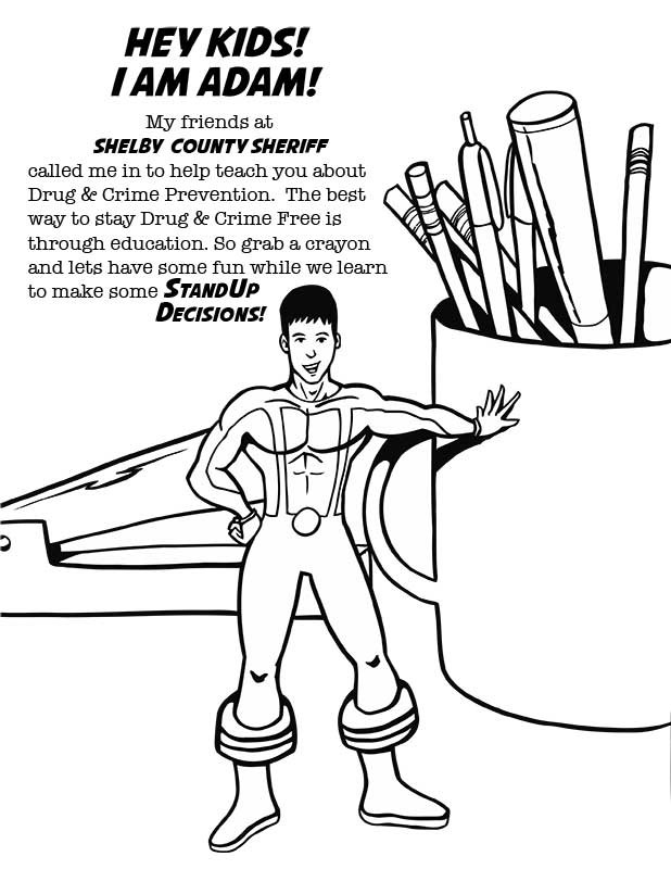 Drug Prevention Coloring Pages Coloring Coloring Pages