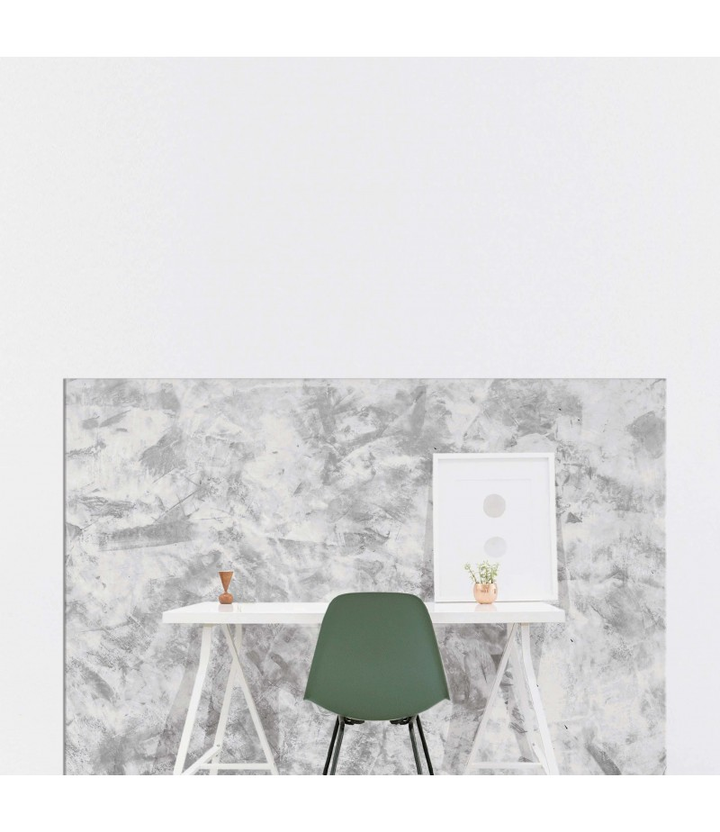 plaque protection murale effet marbre bureau sur mesure pvc
