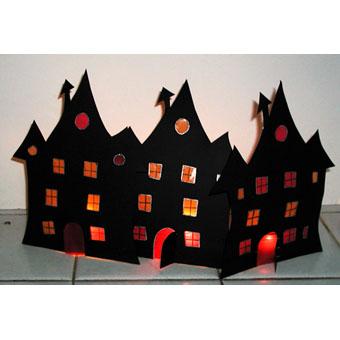 Halloween Verlicht Huis Knutselen Hobbyblogonl