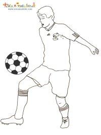Coloriage Foot Griezmann.Coloriage De L Equipe De France De Foot Sagna G 1