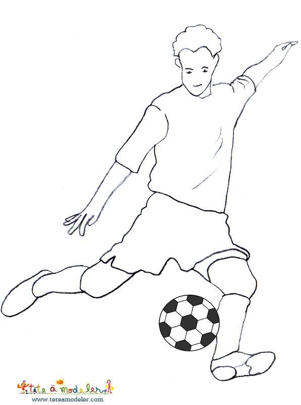 Coloriage Ballon De Foot Soccer Dessin Auto Electrical
