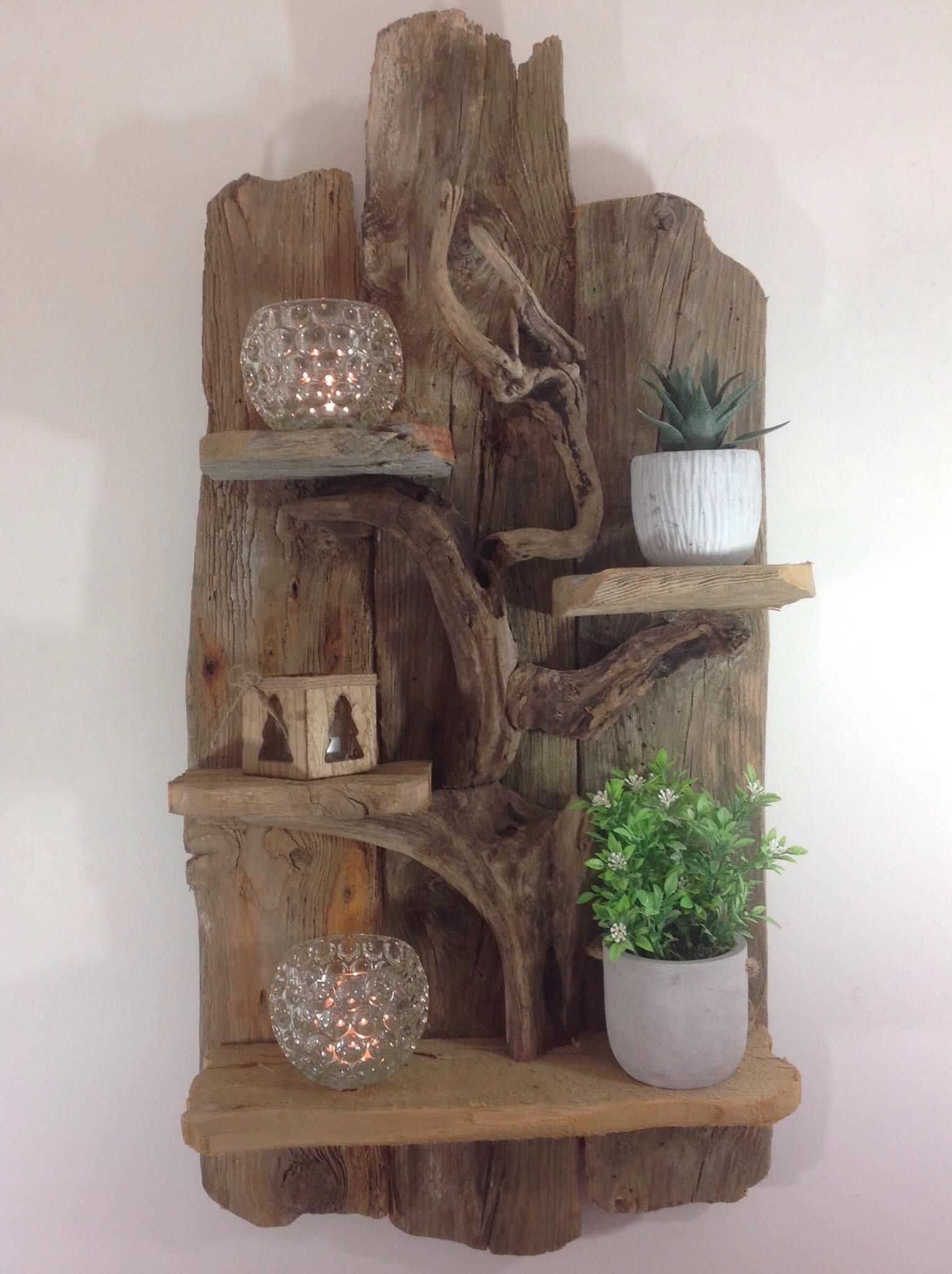 jolie etagere en bois flotte https www tethysart com