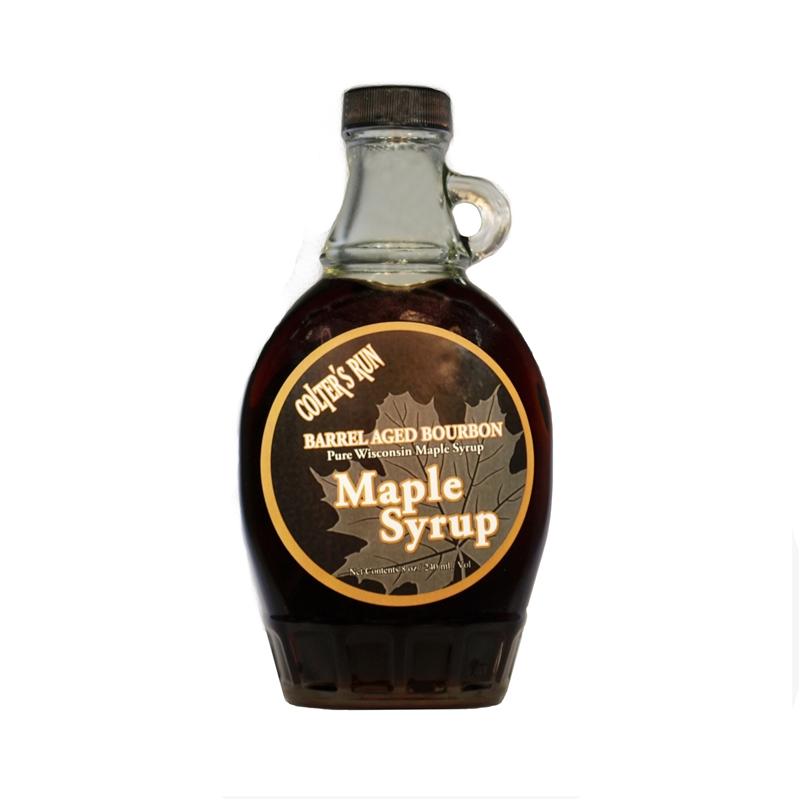 8oz Bourbon BarrelAged Pure Maple Syrup  Grand Teton