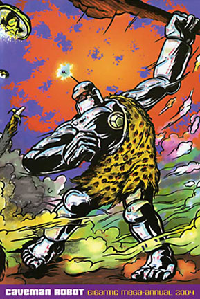 Caveman Robot  - Newcmrcomics