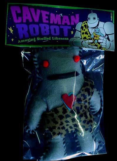 CAVEMAN ROBOT!