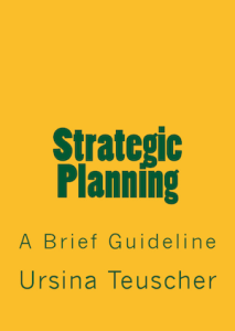Strategic Planning Guideline by Ursina Teuscher, PhD (Front Cover)