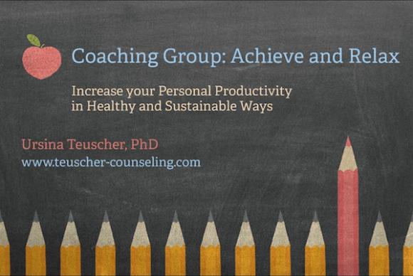 Productivity Coaching Group