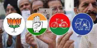 collision of bjp congress