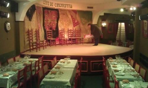 Cafe de Chinitas  restaurante tablao flamenco te veo en madrid