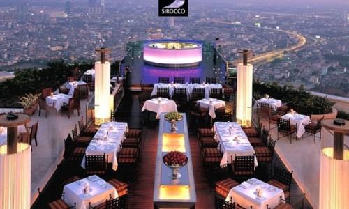 Restaurantes en el top