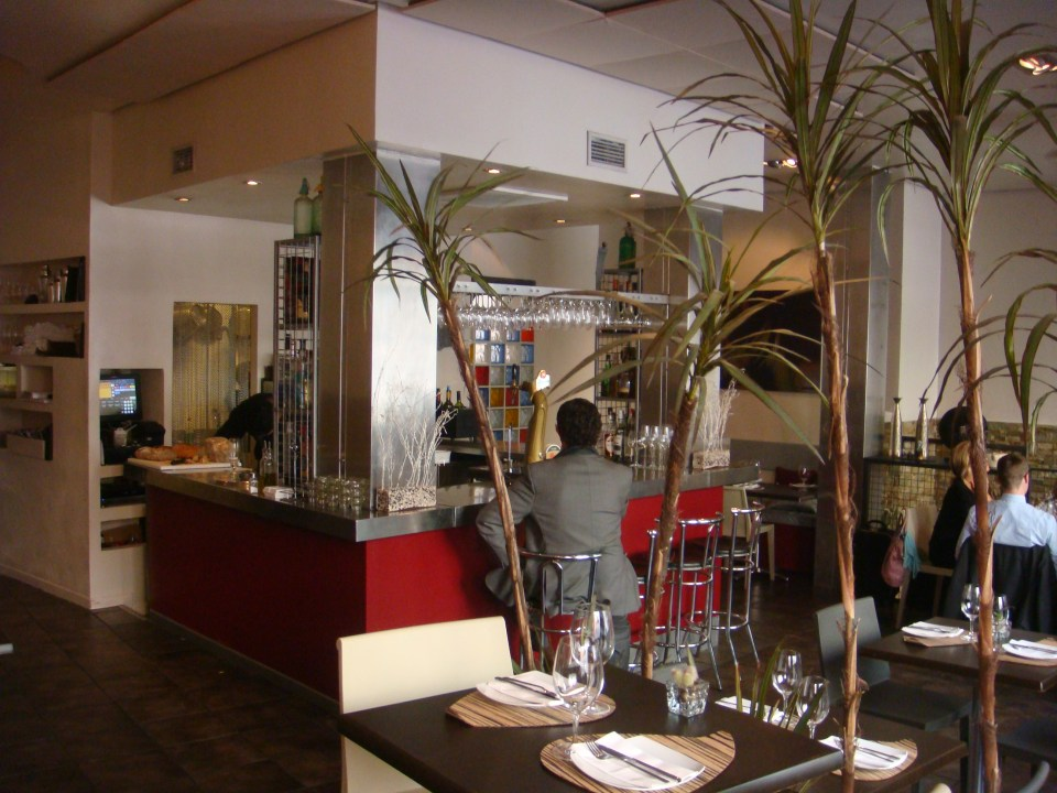 Restaurante Metro Bistro esquina de la Barra Te Veo en Madrid