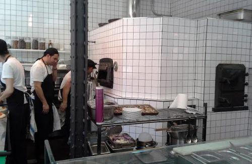 Restaurante Pizzria Picsa horno Te Veo en Madrid