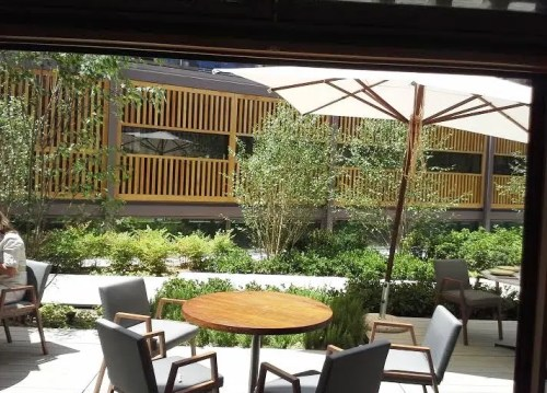 Restaurante Bosco de Lobos terrazaTe Veo en Madrid