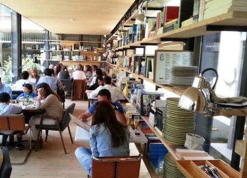 Restaurante Bosco de Lobos zona galería 1 Te Veo en Madrid